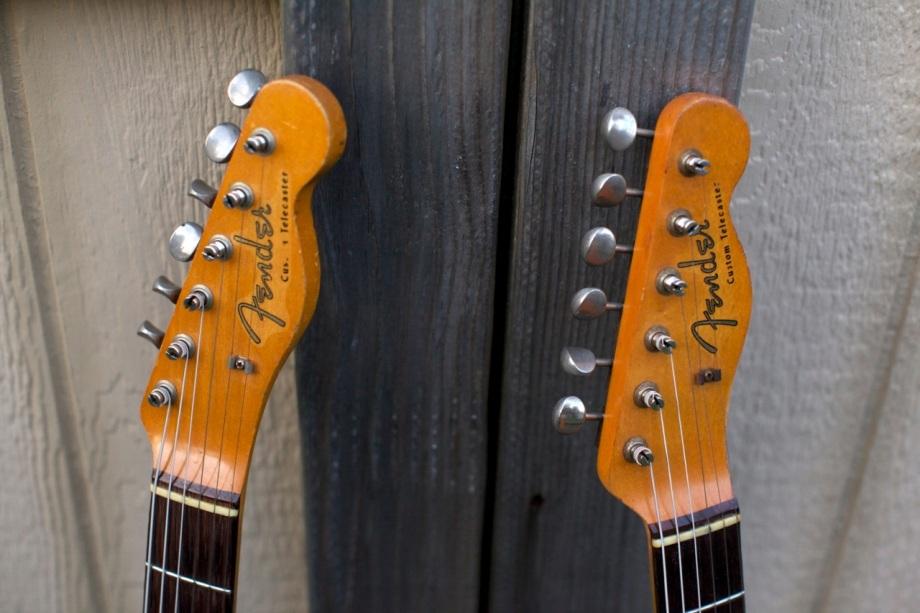 1963 & 1964 Fender Telecaster Customs ~Refinish / Restoration~ FINALPRODUCT