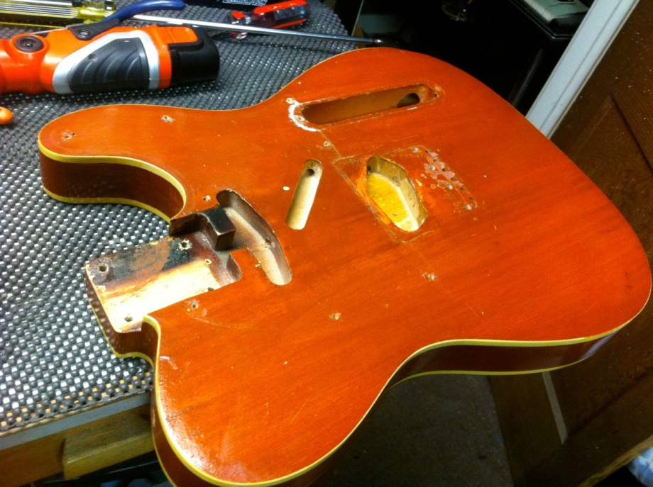 1963 & 1964 Fender Telecaster Customs ~Refinish / Restoration~ A Tale of Two Teles