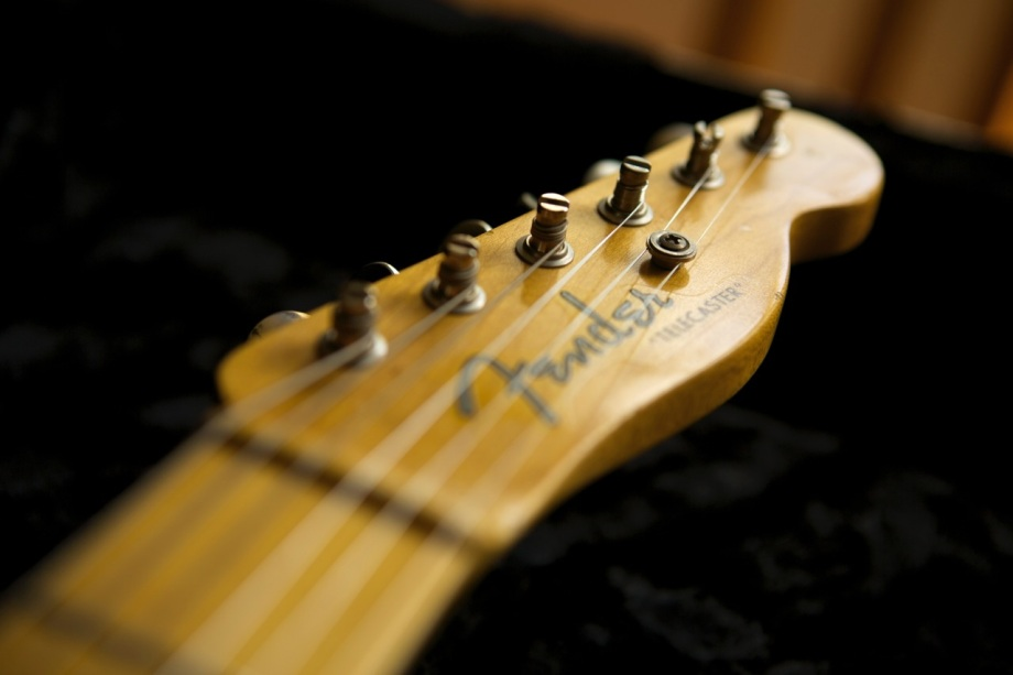 """Vintage Makeover"" of a 2011 Fender Reissue Telecaster"